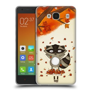 Silikonové pouzdro na mobil Xiaomi Redmi 2 HEAD CASE PODZIMNÍ MÝVAL