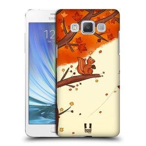 Plastové pouzdro na mobil Samsung Galaxy A5 HEAD CASE PODZIMNÍ VEVERKA