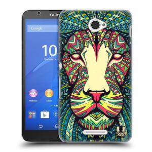 Plastové pouzdro na mobil Sony Xperia E4 E2105 HEAD CASE AZTEC LEV