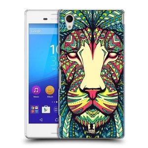 Plastové pouzdro na mobil Sony Xperia M4 Aqua E2303 HEAD CASE AZTEC LEV