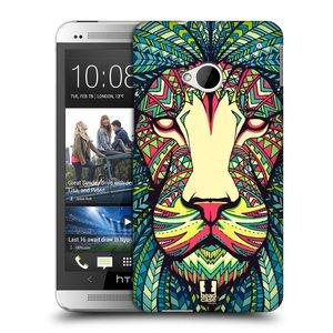 Plastové pouzdro na mobil HTC ONE M7 HEAD CASE AZTEC LEV