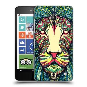 Plastové pouzdro na mobil Nokia Lumia 630 HEAD CASE AZTEC LEV