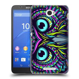 Plastové pouzdro na mobil Sony Xperia E4 E2105 HEAD CASE AZTEC SOVA