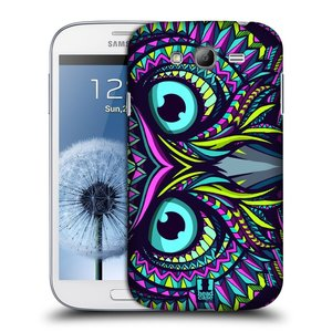 Plastové pouzdro na mobil Samsung Galaxy Grand Neo Plus HEAD CASE AZTEC SOVA