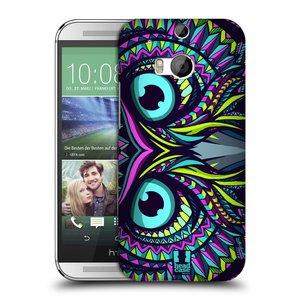 Plastové pouzdro na mobil HTC ONE M8 HEAD CASE AZTEC SOVA