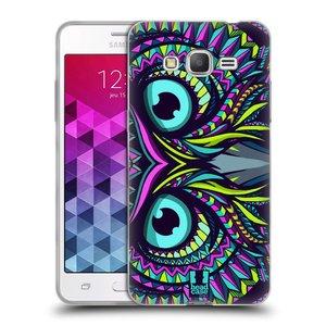 Silikonové pouzdro na mobil Samsung Galaxy Grand Prime HEAD CASE AZTEC SOVA