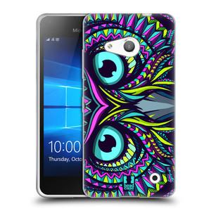 Silikonové pouzdro na mobil Microsoft Lumia 550 HEAD CASE AZTEC SOVA