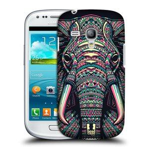 Plastové pouzdro na mobil Samsung Galaxy S III Mini HEAD CASE AZTEC SLON