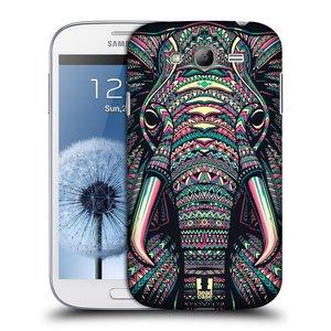 Plastové pouzdro na mobil Samsung Galaxy Grand Neo Plus HEAD CASE AZTEC SLON