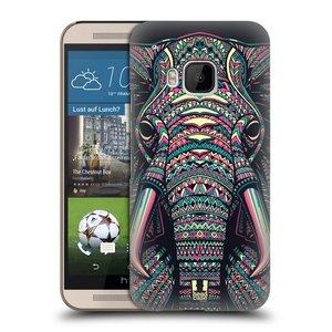 Plastové pouzdro na mobil HTC ONE M9 HEAD CASE AZTEC SLON