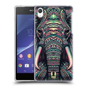 Silikonové pouzdro na mobil Sony Xperia Z2 D6503 HEAD CASE AZTEC SLON