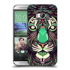 Plastové pouzdro na mobil HTC ONE M8 HEAD CASE AZTEC TYGR