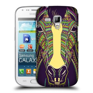 Plastové pouzdro na mobil Samsung Galaxy Trend HEAD CASE AZTEC KŮŇ