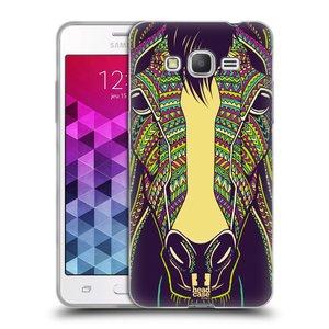 Silikonové pouzdro na mobil Samsung Galaxy Grand Prime VE HEAD CASE AZTEC KŮŇ