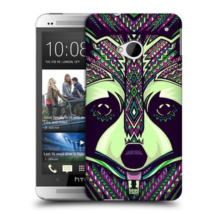 Plastové pouzdro na mobil HTC ONE M7 HEAD CASE AZTEC MÝVAL