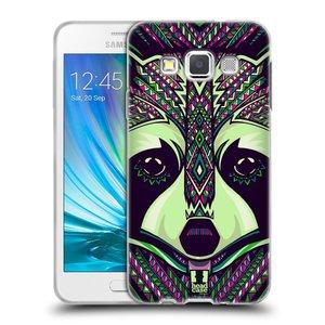 Silikonové pouzdro na mobil Samsung Galaxy A3 HEAD CASE AZTEC MÝVAL