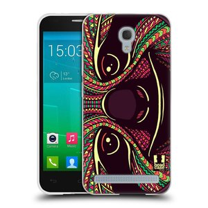 Silikonové pouzdro na mobil Alcatel One Touch Idol 2 Mini S 6036Y HEAD CASE AZTEC LENOCHOD