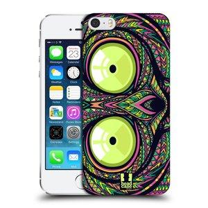 Plastové pouzdro na mobil Apple iPhone SE, 5 a 5S HEAD CASE AZTEC NÁRTOUN