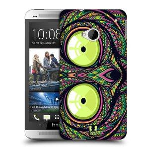 Plastové pouzdro na mobil HTC ONE M7 HEAD CASE AZTEC NÁRTOUN