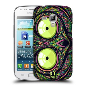 Plastové pouzdro na mobil Samsung Galaxy Trend Plus HEAD CASE AZTEC NÁRTOUN