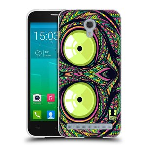 Silikonové pouzdro na mobil Alcatel One Touch Idol 2 Mini S 6036Y HEAD CASE AZTEC NÁRTOUN