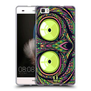 Silikonové pouzdro na mobil Huawei P8 Lite HEAD CASE AZTEC NÁRTOUN