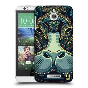 Plastové pouzdro na mobil HTC Desire 510 HEAD CASE AZTEC HROCH
