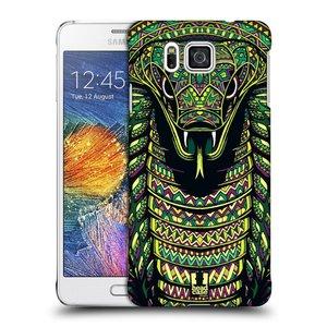 Plastové pouzdro na mobil Samsung Galaxy Alpha HEAD CASE AZTEC HAD
