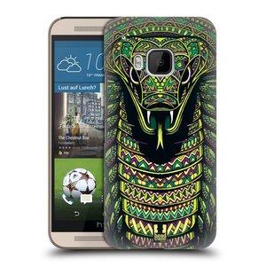 Plastové pouzdro na mobil HTC ONE M9 HEAD CASE AZTEC HAD