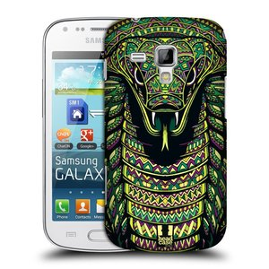 Plastové pouzdro na mobil Samsung Galaxy S Duos HEAD CASE AZTEC HAD