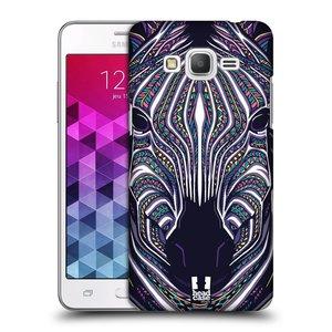 Plastové pouzdro na mobil Samsung Galaxy Grand Prime HEAD CASE AZTEC ZEBRA