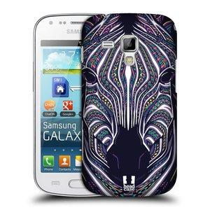 Plastové pouzdro na mobil Samsung Galaxy S Duos HEAD CASE AZTEC ZEBRA