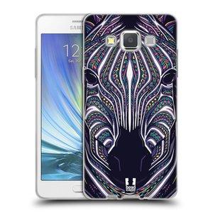 Silikonové pouzdro na mobil Samsung Galaxy A5 HEAD CASE AZTEC ZEBRA