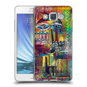 Silikonové pouzdro na mobil Samsung Galaxy A5 HEAD CASE AZTEC KORAT