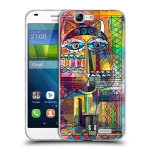 Silikonové pouzdro na mobil Huawei Ascend G7 HEAD CASE AZTEC KORAT