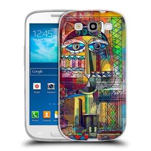 Silikonové pouzdro na mobil Samsung Galaxy S III HEAD CASE AZTEC KORAT