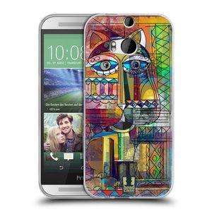 Silikonové pouzdro na mobil HTC ONE M8 HEAD CASE AZTEC KORAT