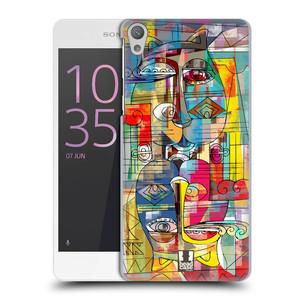 Plastové pouzdro na mobil Sony Xperia E5 HEAD CASE AZTEC MANX