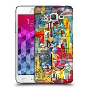 Plastové pouzdro na mobil Samsung Galaxy Grand Prime VE HEAD CASE AZTEC MANX