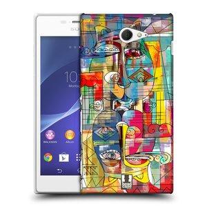 Plastové pouzdro na mobil Sony Xperia M2 D2303 HEAD CASE AZTEC MANX