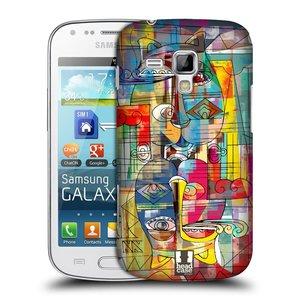 Plastové pouzdro na mobil Samsung Galaxy Trend HEAD CASE AZTEC MANX