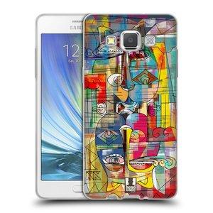 Silikonové pouzdro na mobil Samsung Galaxy A5 HEAD CASE AZTEC MANX