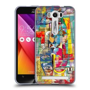 Silikonové pouzdro na mobil Asus ZenFone 2 Laser ZE500KL HEAD CASE AZTEC MANX