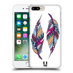Plastové pouzdro na mobil Apple iPhone 7 Plus HEAD CASE AZTEC PÍRKA