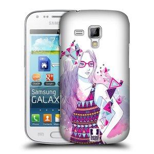 Plastové pouzdro na mobil Samsung Galaxy Trend Plus HEAD CASE AZTEC HOLKA