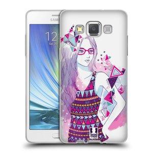 Silikonové pouzdro na mobil Samsung Galaxy A5 HEAD CASE AZTEC HOLKA