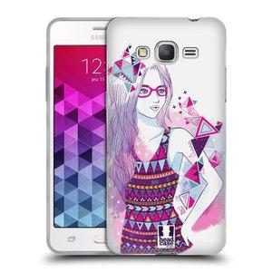 Silikonové pouzdro na mobil Samsung Galaxy Grand Prime HEAD CASE AZTEC HOLKA