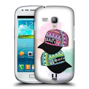 Plastové pouzdro na mobil Samsung Galaxy S III Mini HEAD CASE AZTEC ČAPKY