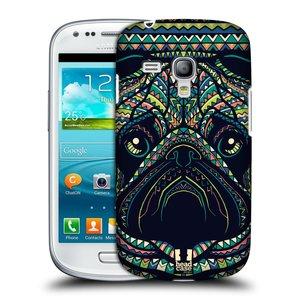 Plastové pouzdro na mobil Samsung Galaxy S III Mini HEAD CASE AZTEC MOPS