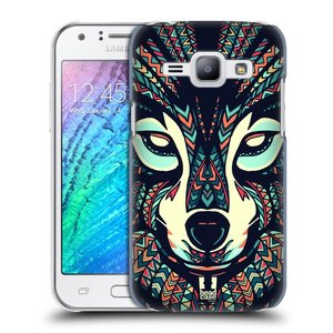 Plastové pouzdro na mobil Samsung Galaxy J1 HEAD CASE AZTEC VLK